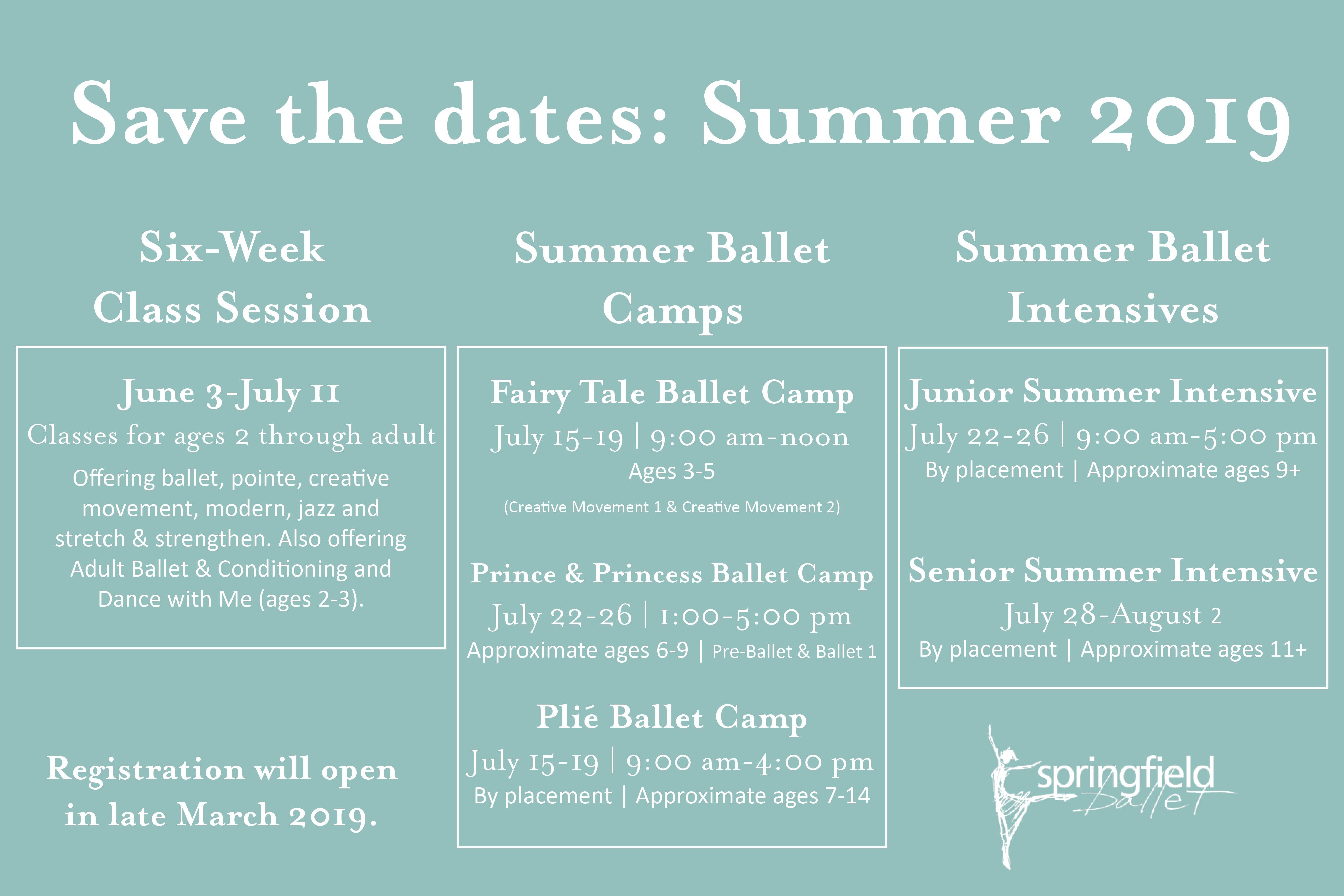 Springfield Ballet :: Summer Programs